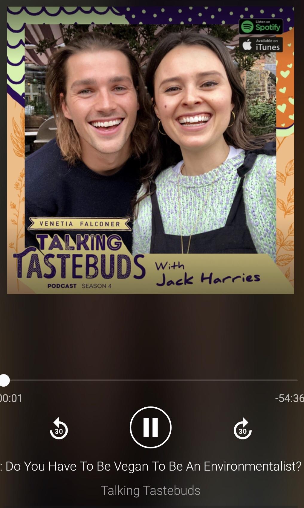 Talking Tastebuds with JackHarries