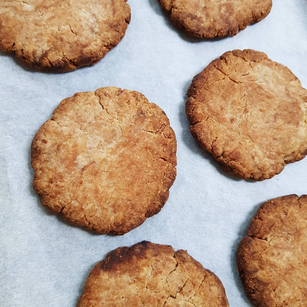 Almond Coconut Biscuits